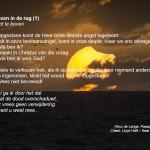 Woensdagmeditatie: Met Pasen in de rug (1)