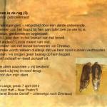 Woensdagmeditatie: Met Pasen in de rug (3)